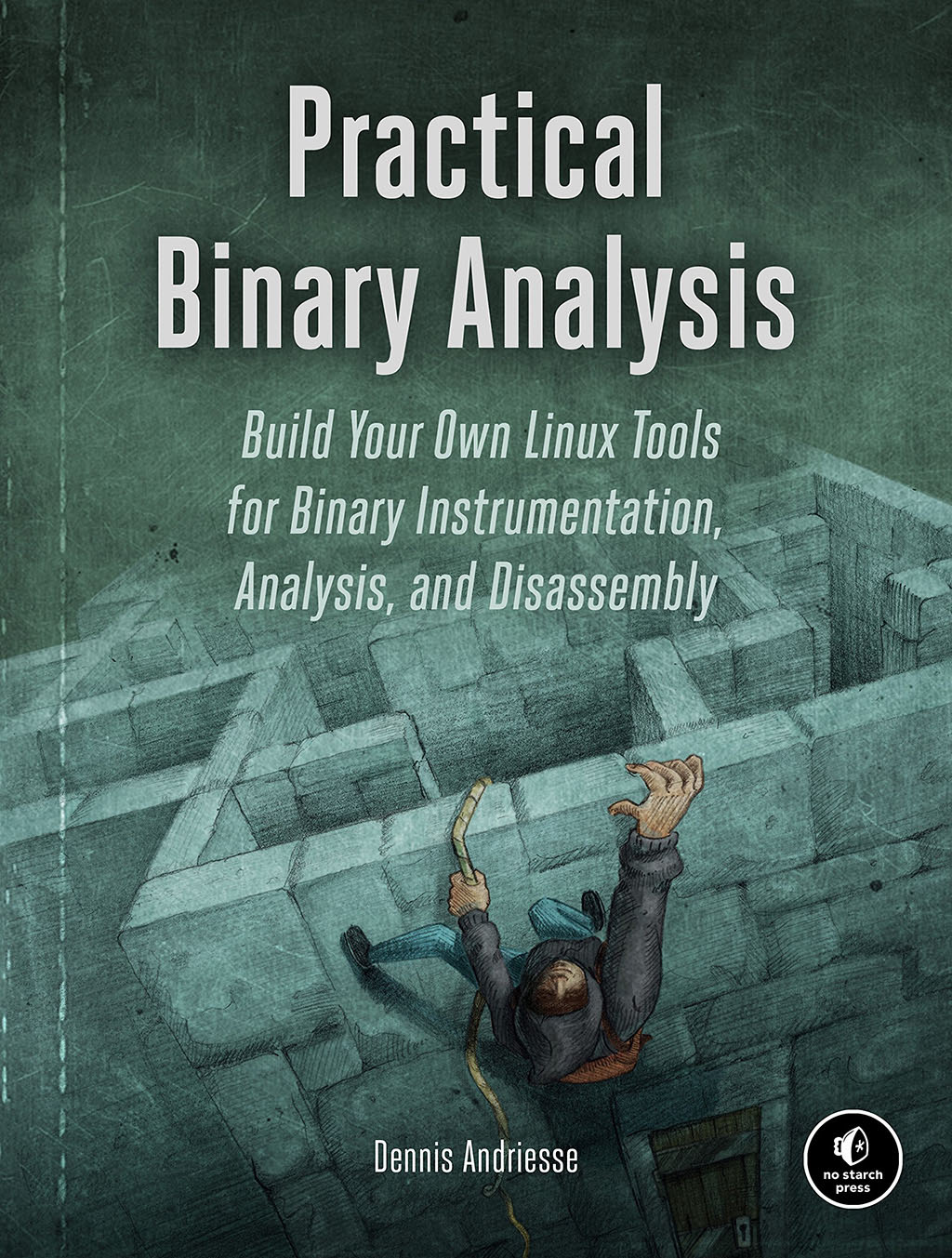 Cover of Practical Binary Analysis.